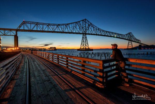 Astoria Megler Bridge Columbia River Oregon Coast