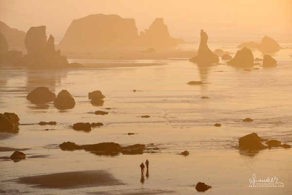 beach combers, Bandon Oregon coast vacations