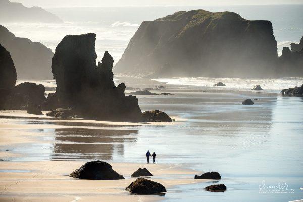 Bandon beach Oregon coast vacation