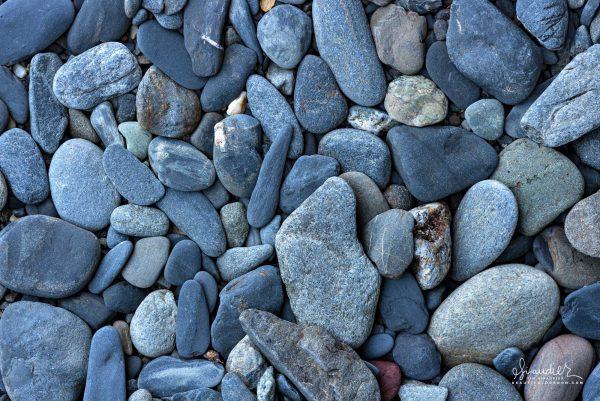Beach rock, Coal Point, Humbug Mountain State Park, Curry County, South Oregon Coast.