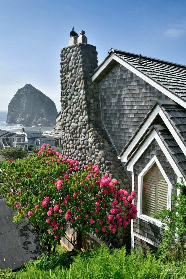 Cannon Beach and Haystack Rock. Clatsop County, Oregon North Coast.