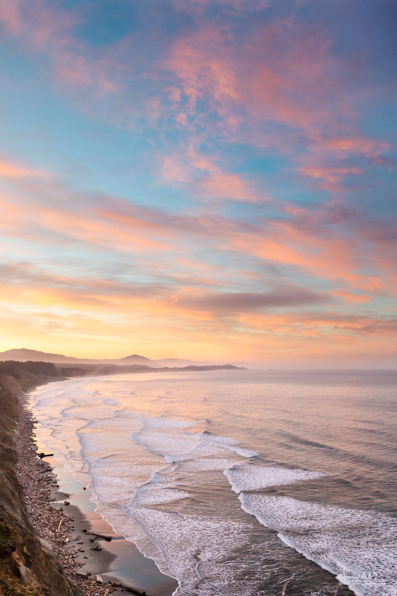 Cape Blanco sunrise Oregon South Coast