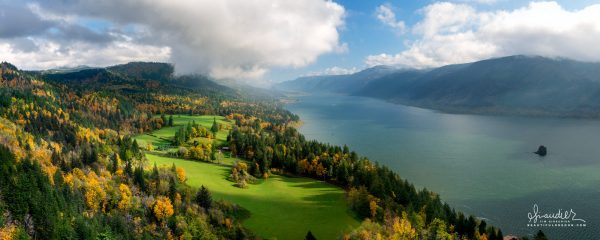 Columbia River Gorge Skamania County Washington State