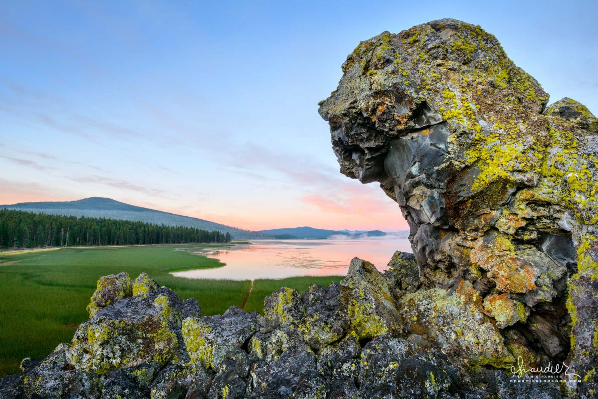 Davis Lake, Central Oregon Cascades