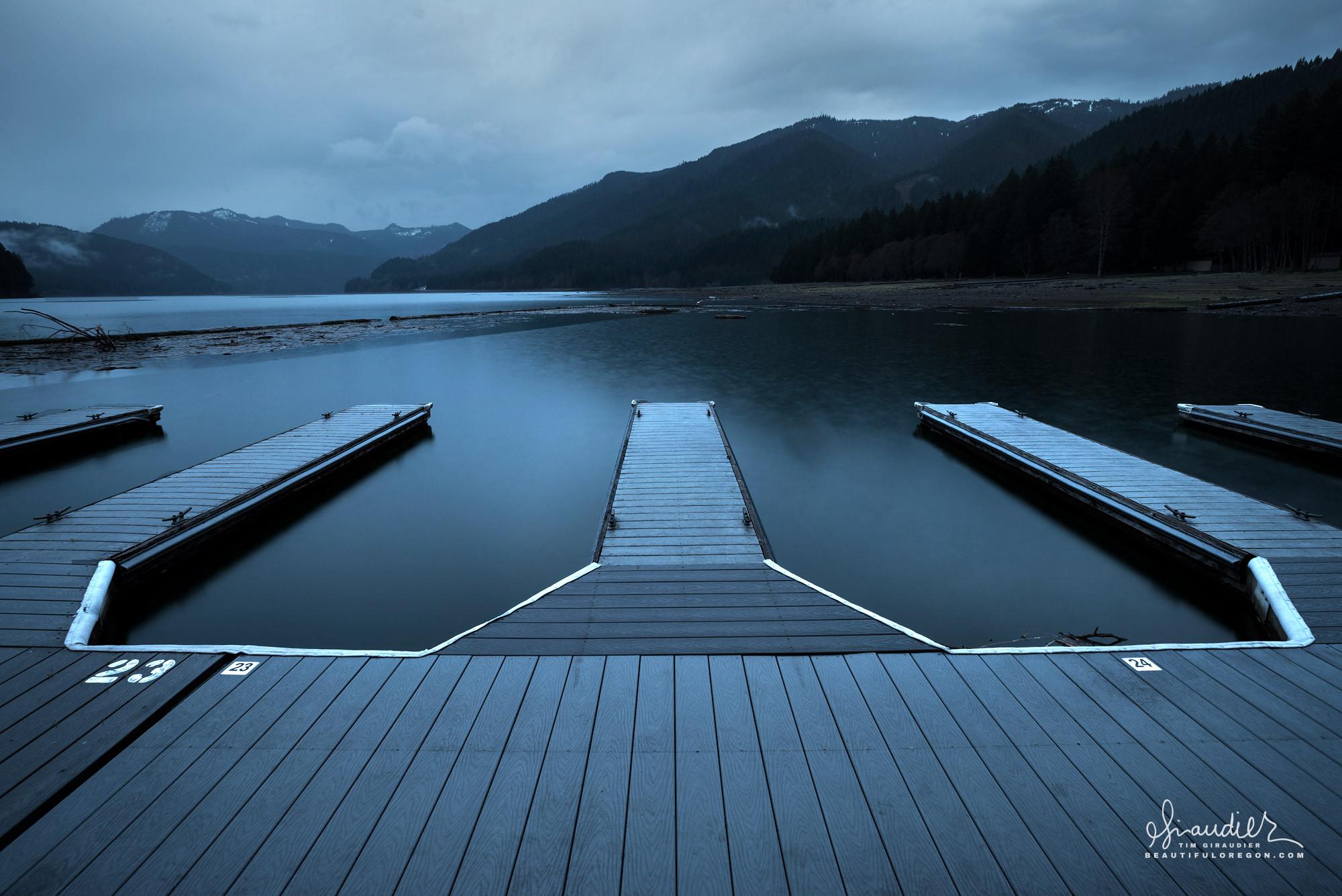 Detroit Reservoir, marina, Willamette National Forest, Oregon Cascades recreation