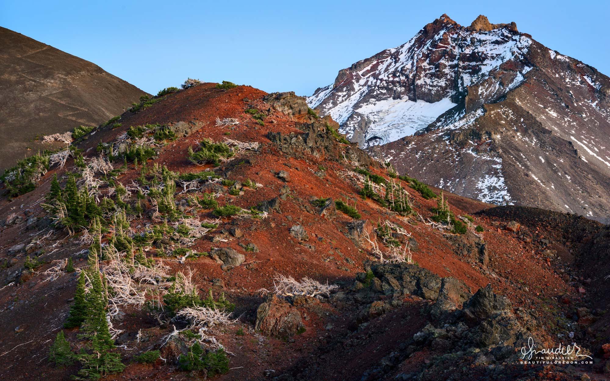 North Sister, Three Sister Wilderness, Central Oregon Cascades