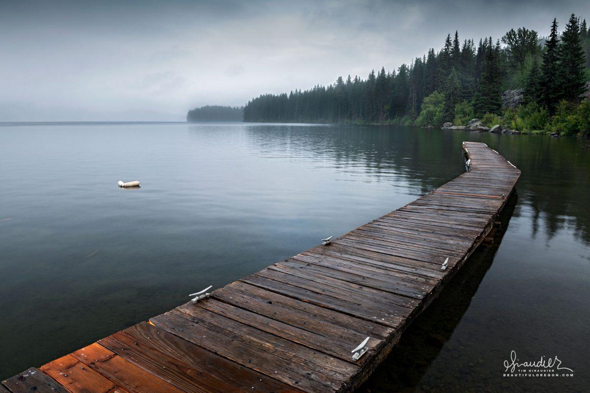 Shelter Cove, Odell Lake Oregon Cascades
