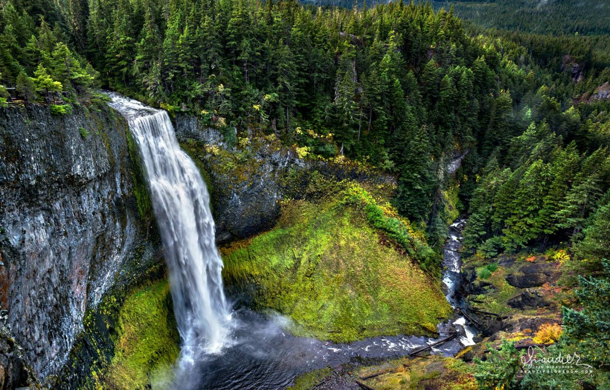 Salt Creek Falls, Willamette National Forest, Oregon west Cascades landscape photography.