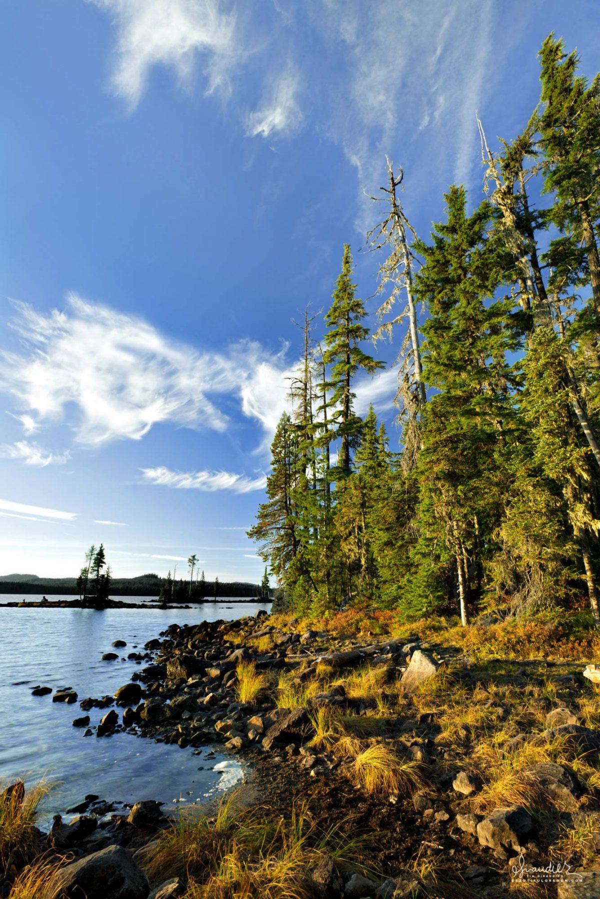 Waldo Lake Central Oregon Cascades
