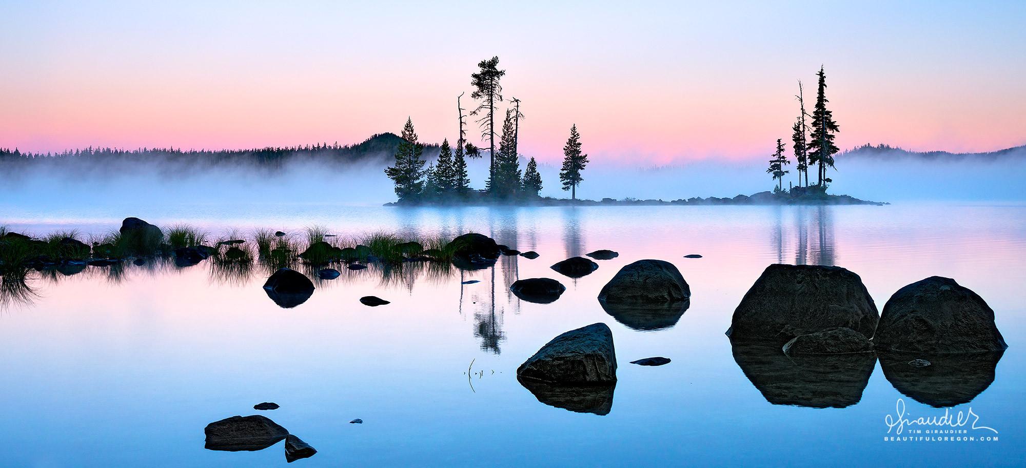Waldo Lake Oregon Central Cascades