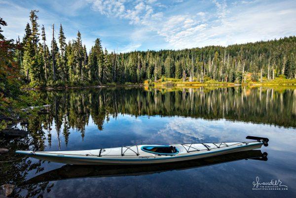 Paddling Oregon's Alpine Lakes. Kayak the Willamette National Forest, Lane County, Oregon West Cascades