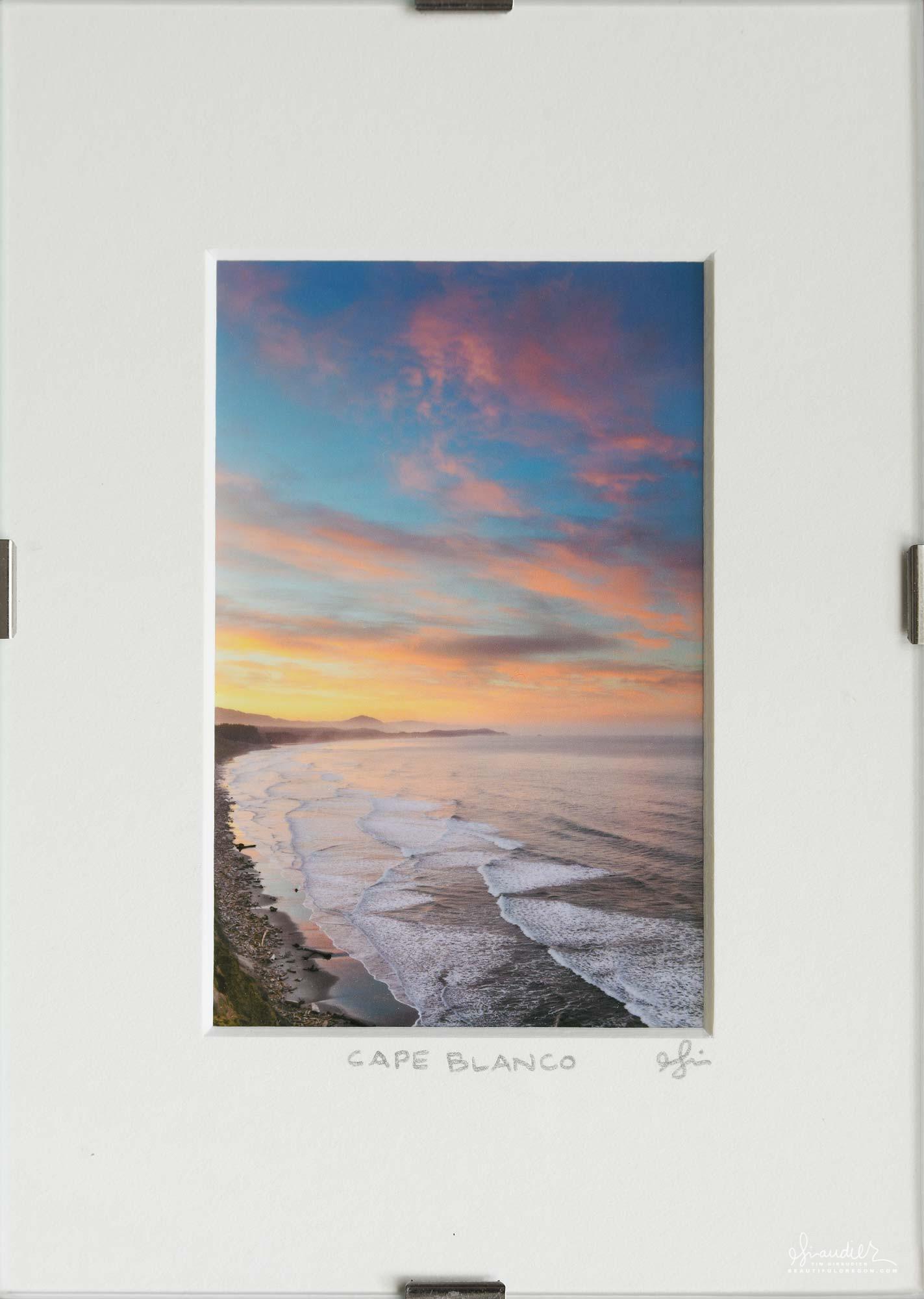 Cape Blanco sunrise. Curry County, Oregon south coast.