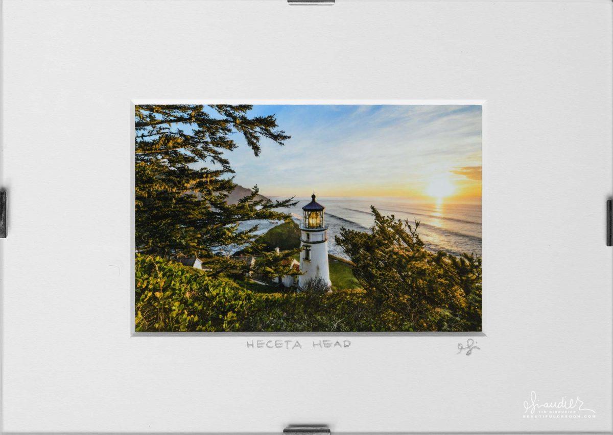 Heceta Lighthouse Sunset, Oregon Coast