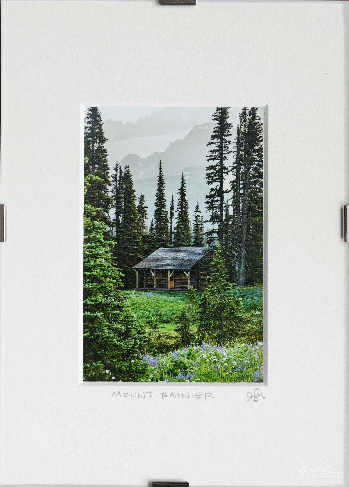 Cabin at Indian Henry's, Mount Rainier, Washington Cascades