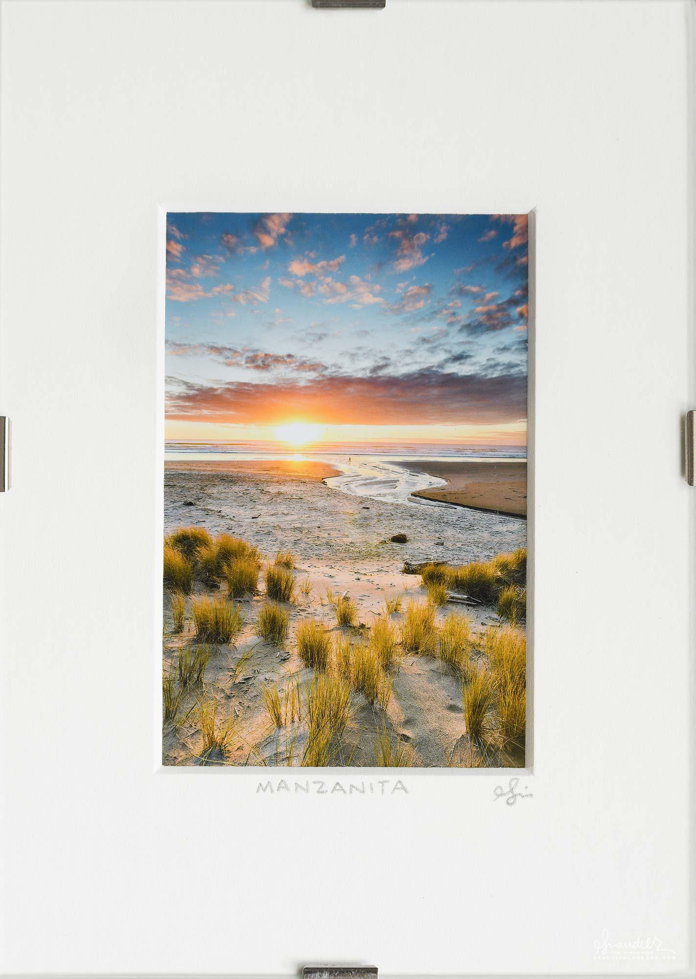 Neahkahnie Beach Sunset, Manzanita on Oregon's North Coast.