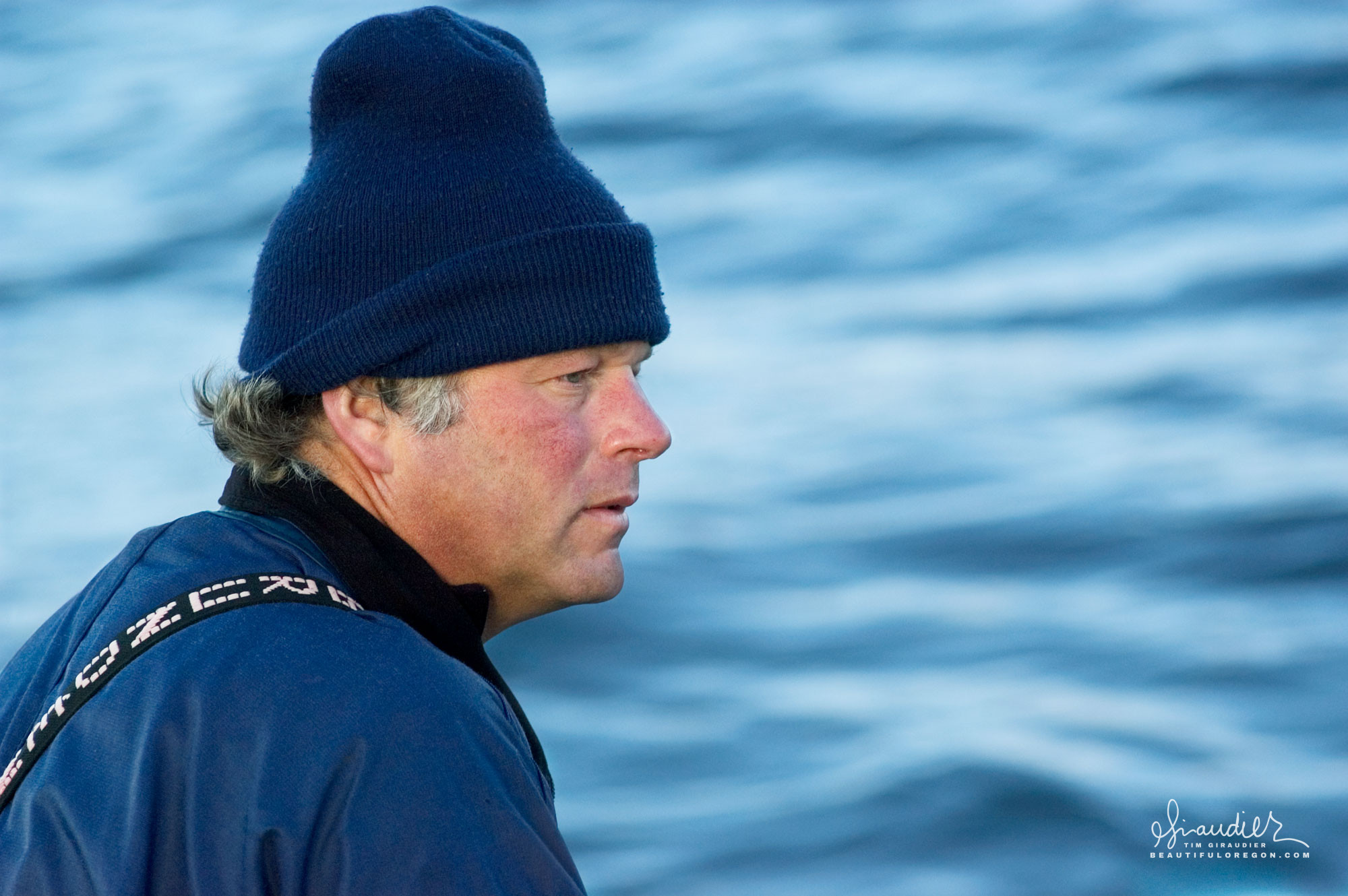 Capt. Rick Oltman F/V Cape Cleare. Southeast Alaska sustainable salmon troll fishery.