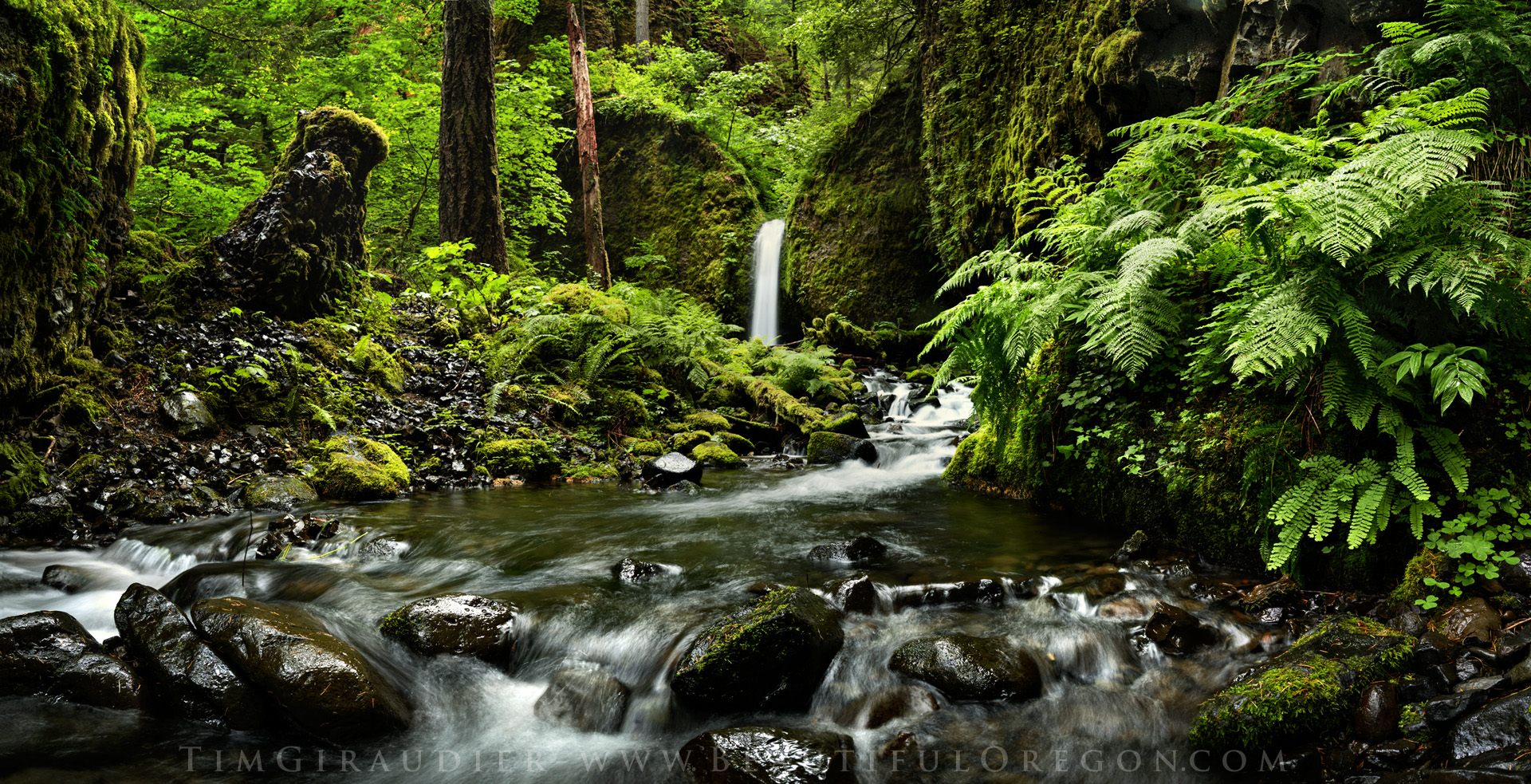 Most Beautiful Places To Visit Mossy Grotto Falls Columbia River Gorge Hood River