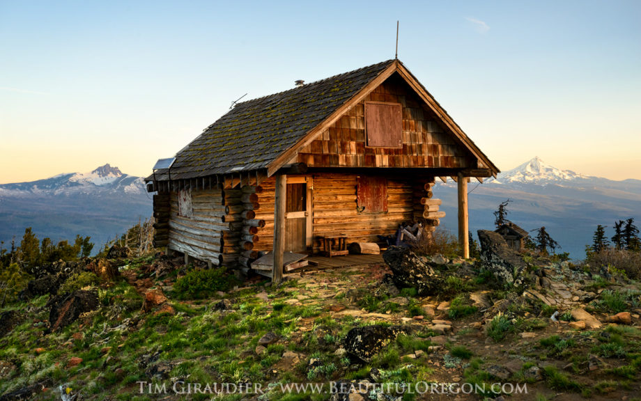 Black Butte Cabin Central Oregon Cascades Photography 512