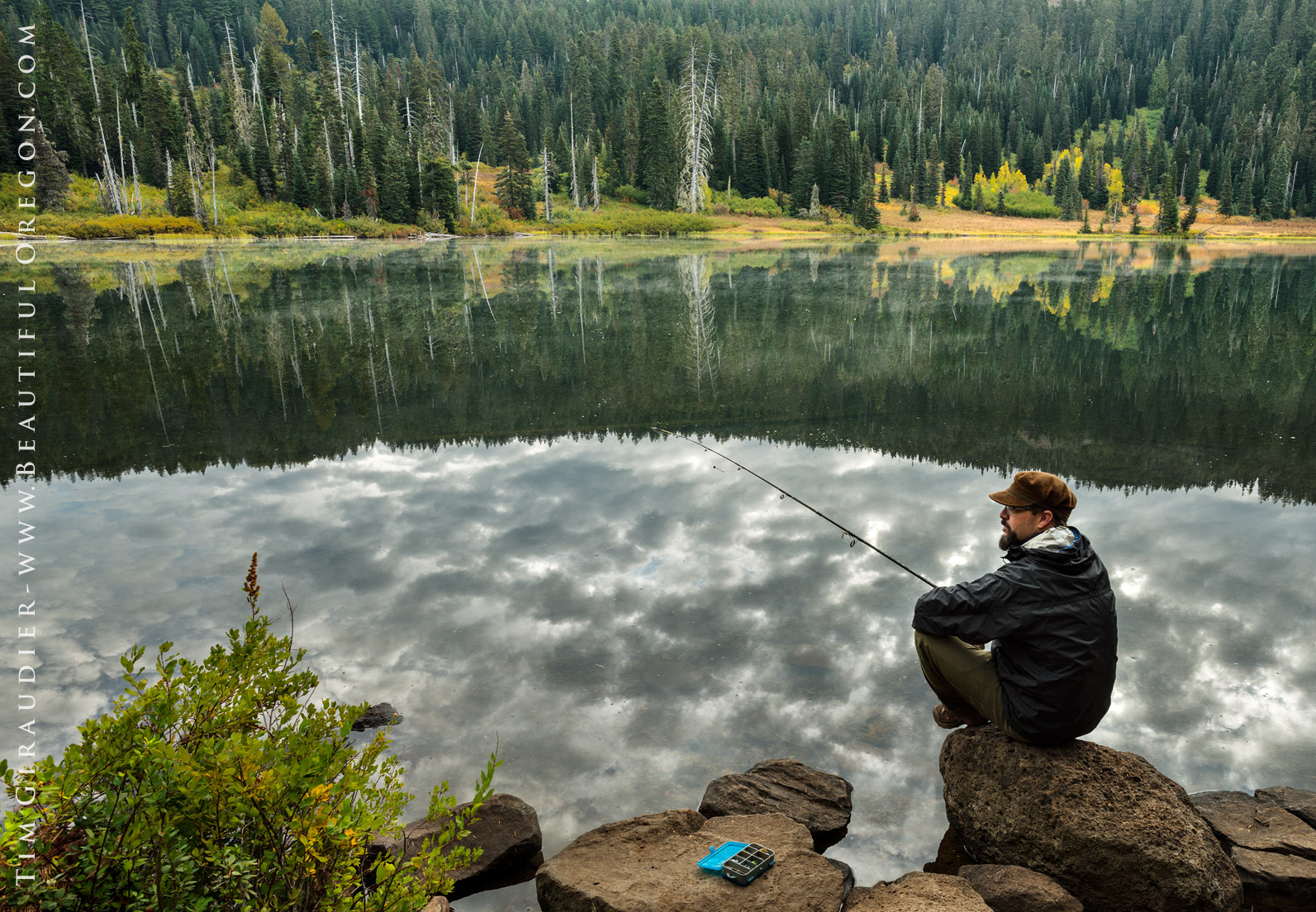 Photo collection alpine pond lakes for Oregon free fishing